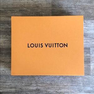 Authentic Louis Vuitton purse box!